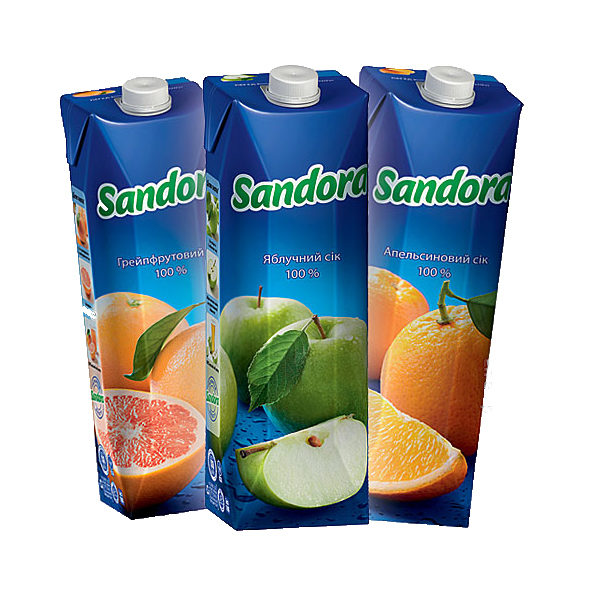 Сок sandora в ассортименте