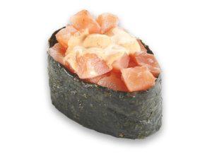 Гункан спайс лосось